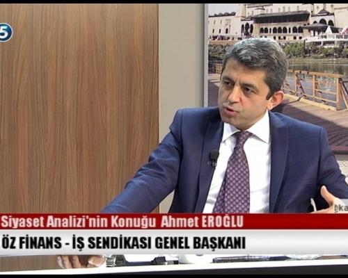 Siyaset Analizi 08.03.2017 KONUK: Ahmet EROĞLU
